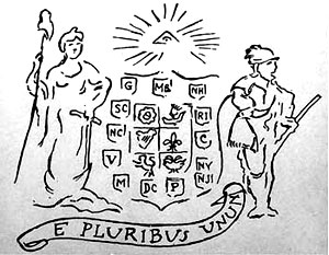 E Pluribus Unum - History of Motto Carried by Eagle on Great Seal